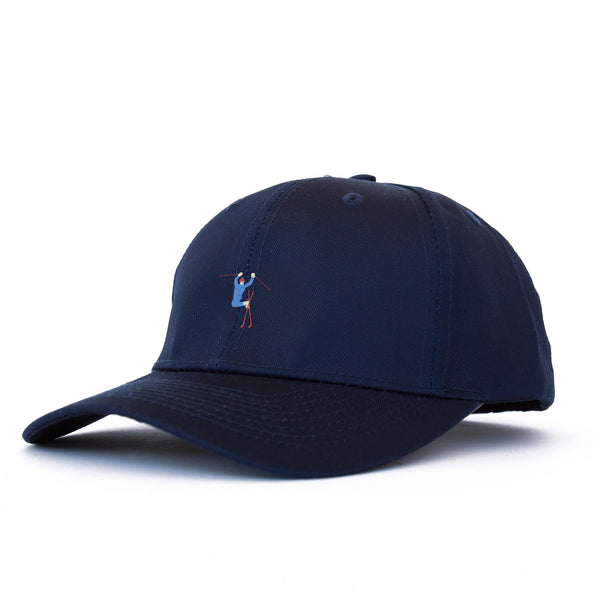Hot Dogger Unstructured 6 Panel Navy