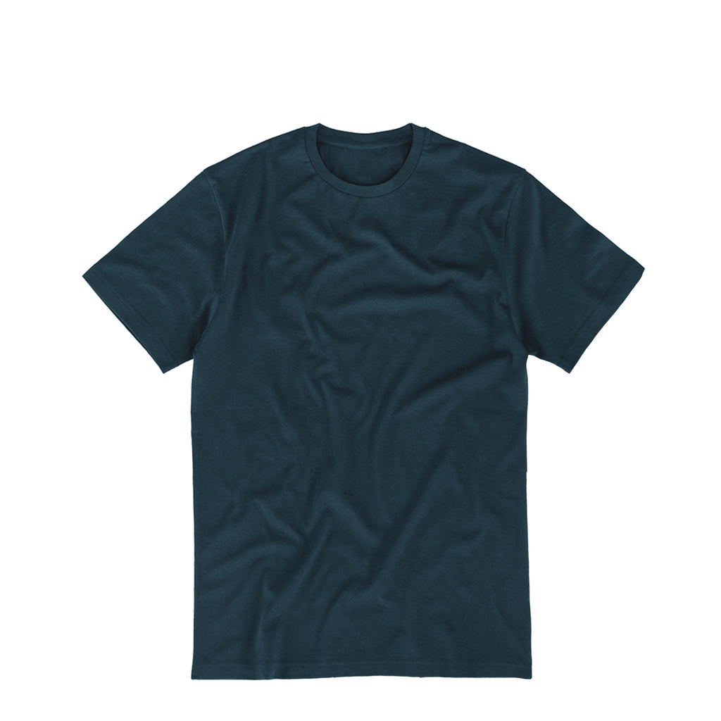 Essential Supima Cotton Tee Ocean Navy