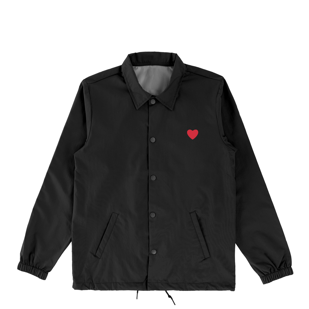 Heart in Hand Coaches Jacket Black