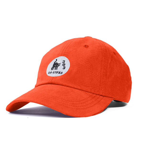 Lo-Lifes Unstructured 6-Panel Orange