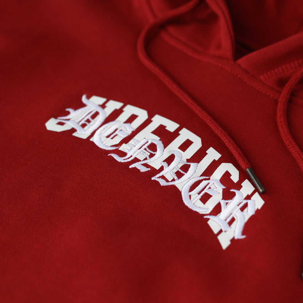 First Team Hoodie Oxblood
