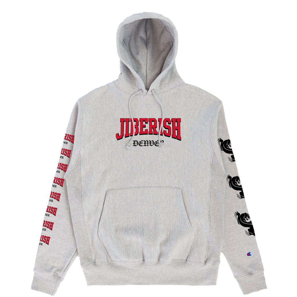 Heavyweight Champion Reverse Weave Hoodie Heather Grey