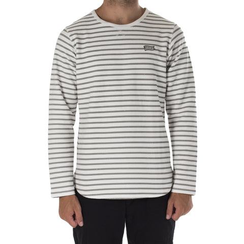 Pennant Striped Long Sleeve Grey