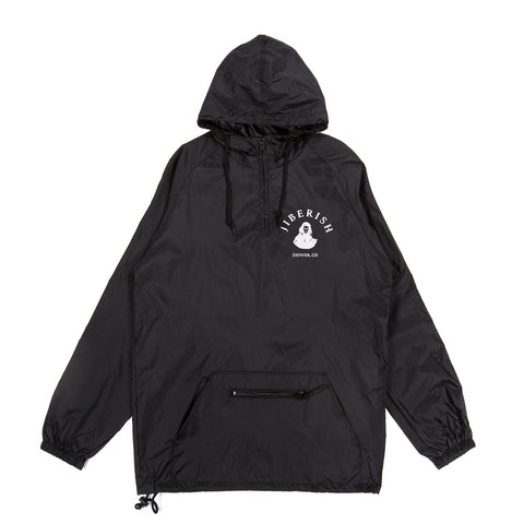Play For Keeps Lightweight Packable Anorak Black