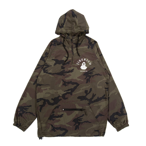 Play For Keeps Lightweight Packable Anorak Camo