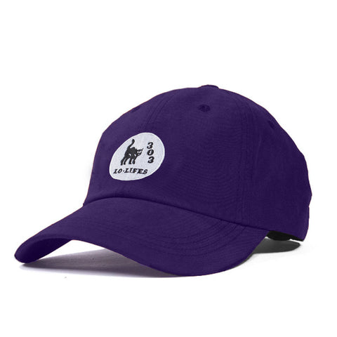 Lo-Lifes Unstructured 6-Panel Purple