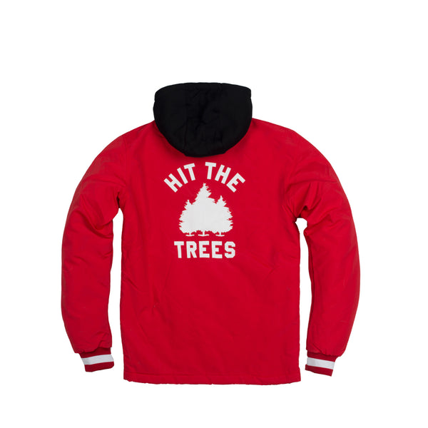 Hit the Trees Jacket Red