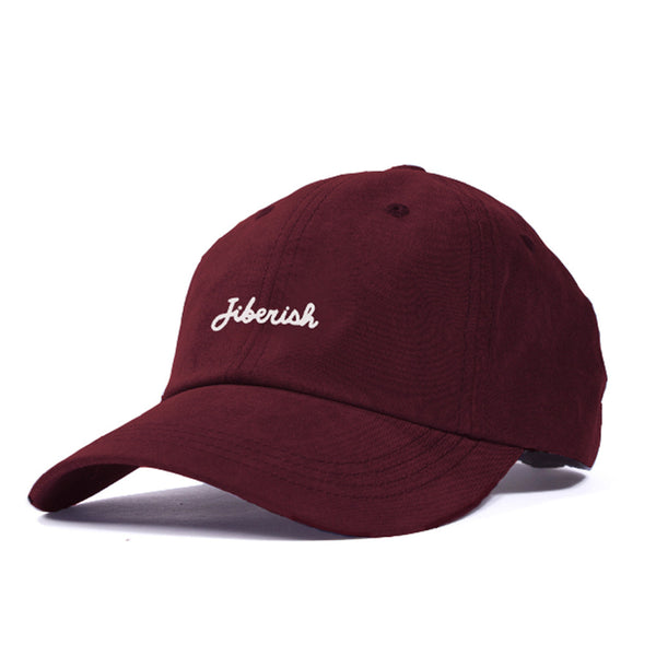 Script 6 Panel Hat Crimson