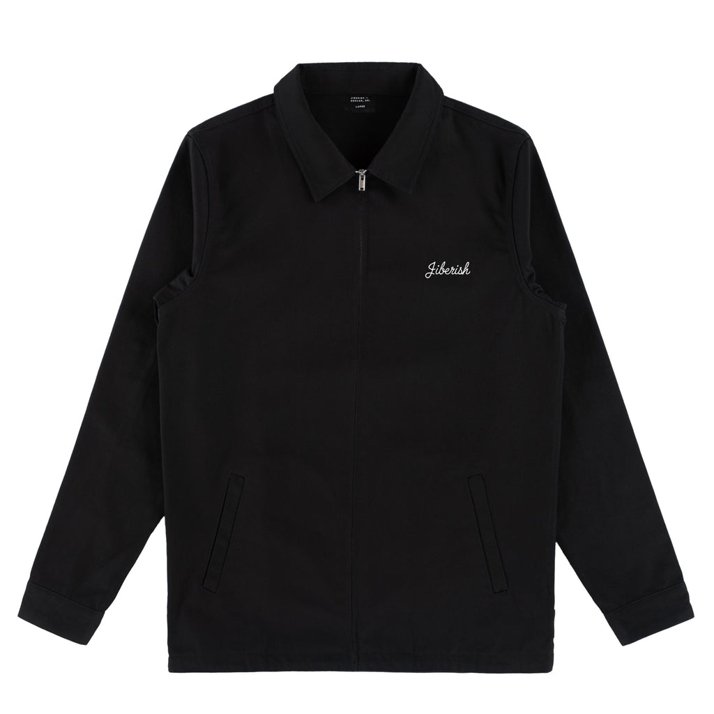 Sporting Club Work Jacket Black