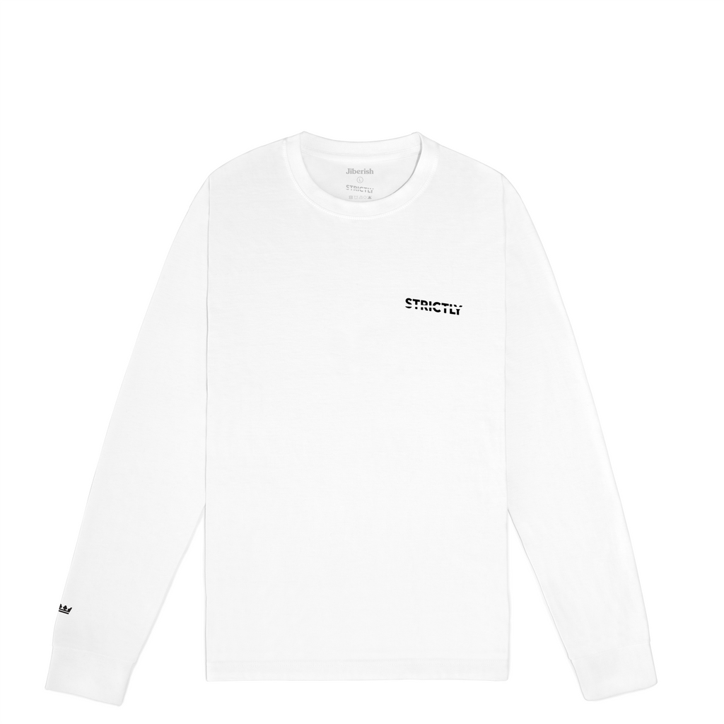 Strictly Long Sleeve White