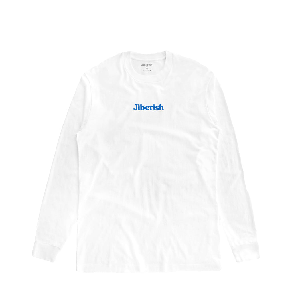 Hometown Supima Long Sleeve White