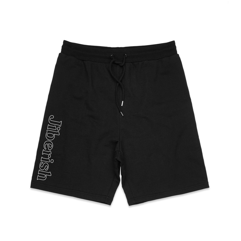 Hometown Fleece Shorts Black