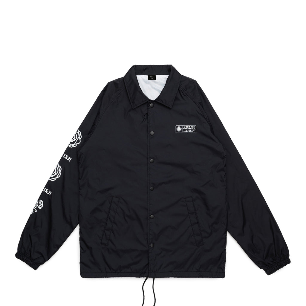 From the Ground Up Coaches Jacket Black