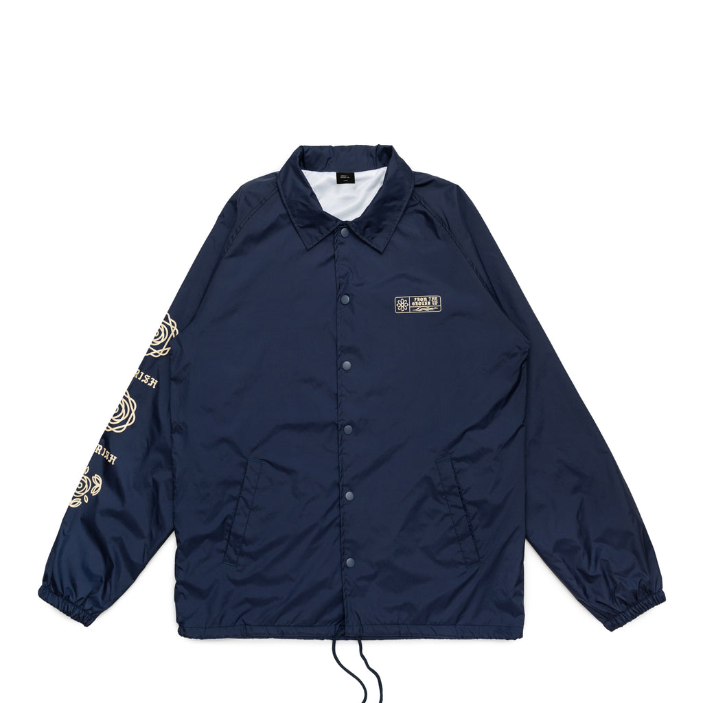 From the Ground Up Coaches Jacket Navy
