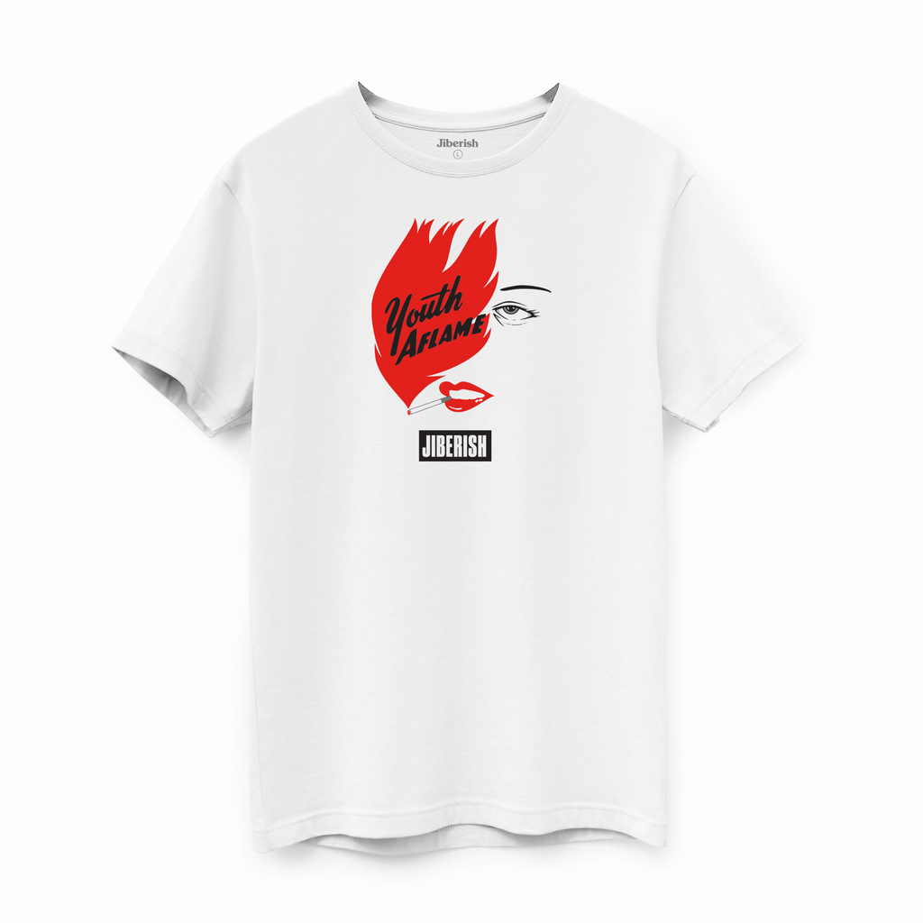 Youth Aflame Supima White