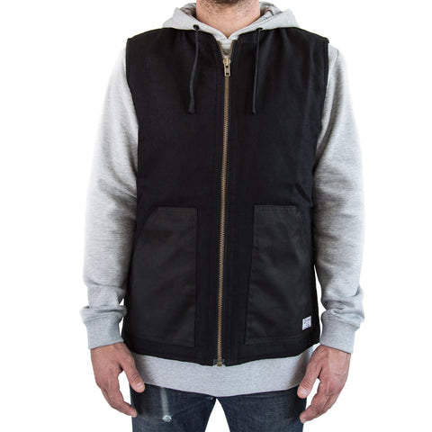 Ballistic Duck Canvas Vest Black