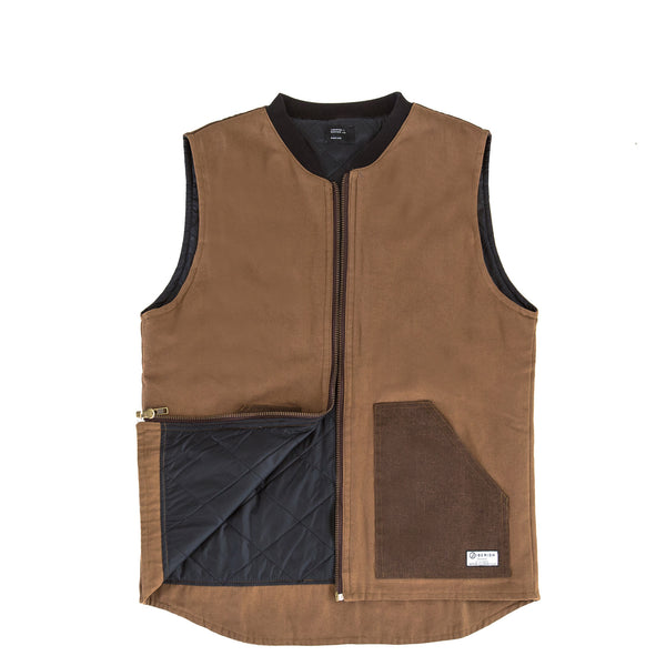 Ballistic Duck Canvas Vest Brown
