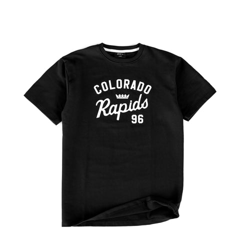 Jiberish x Rapids French Terry Tee Black