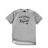 Jiberish x Rapids French Terry Tee Grey