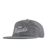 Jiberish X Rapids Unstructured 6-Panel Hat Grey