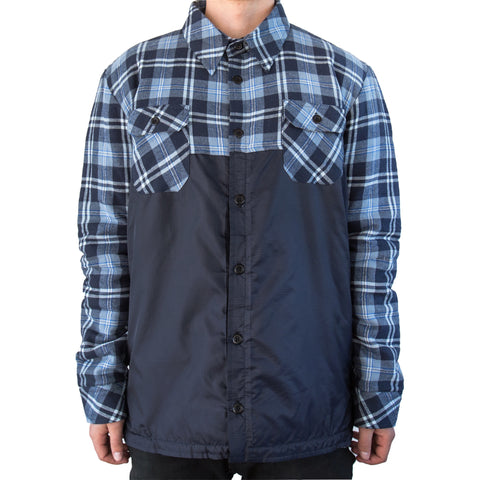 Insulated Riding Flannel Grey