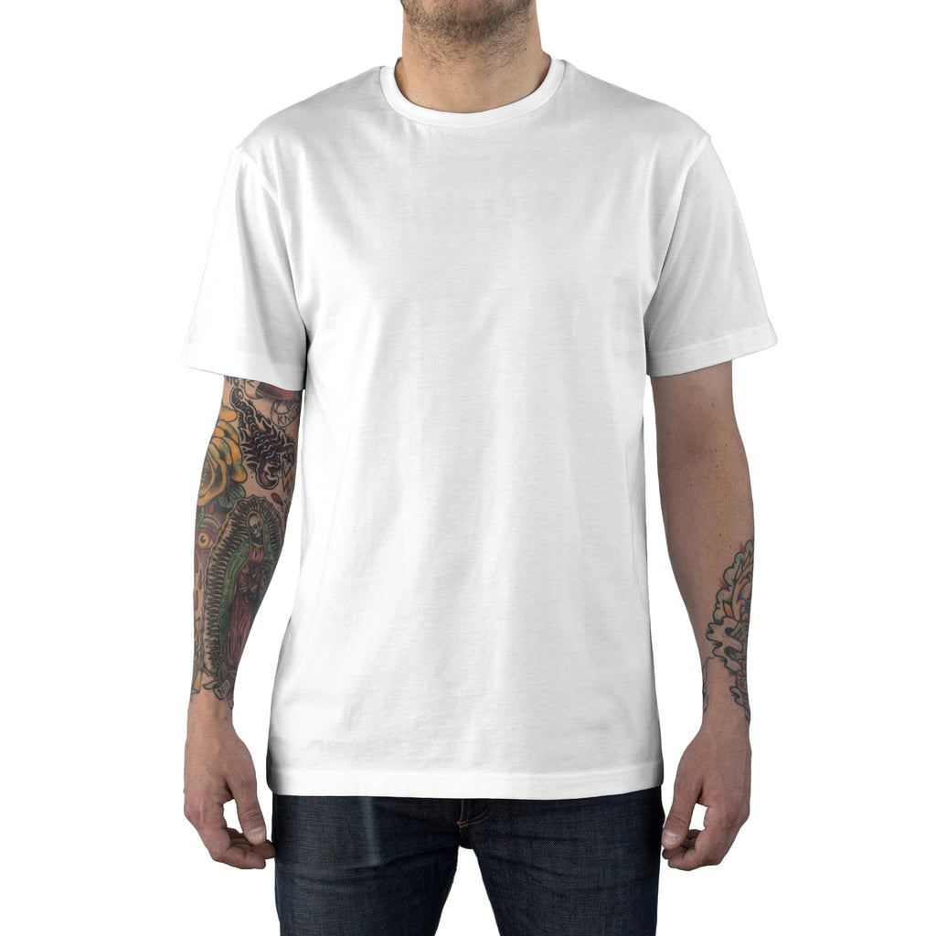 Essential Supima Cotton Tee White