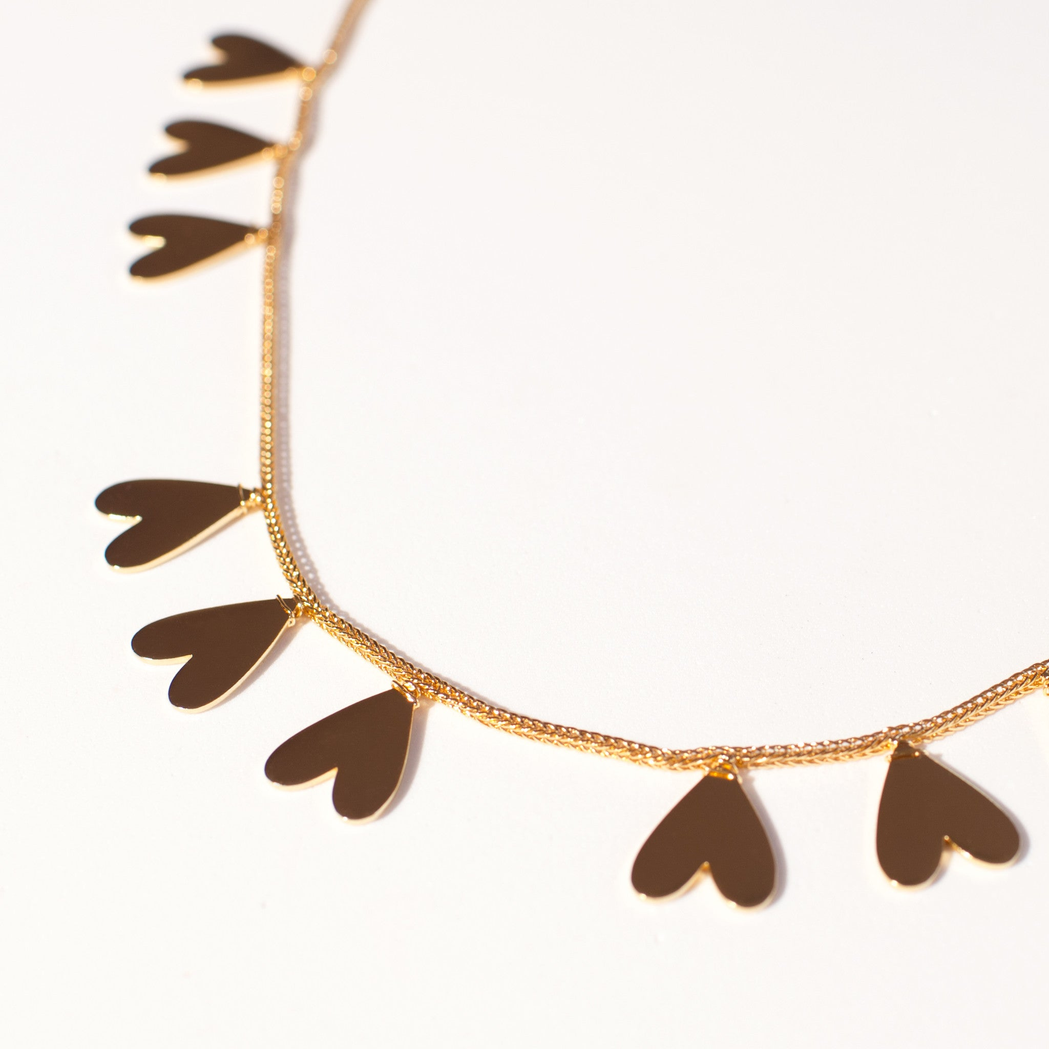 in gold products chloe modern foxy necklace originals