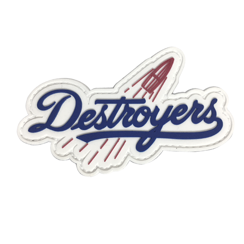 Destroyers PVC Patch