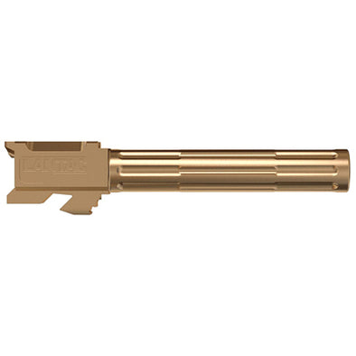 Lantac 9INE G17 Non-Threaded Barrel - Bronze