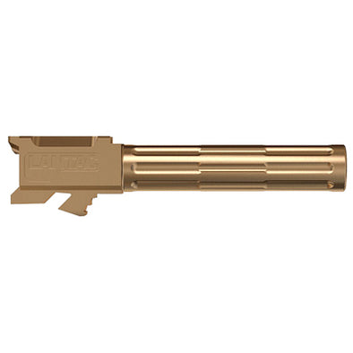 Lantac 9INE G19 Non-Threaded Barrel - Bronze