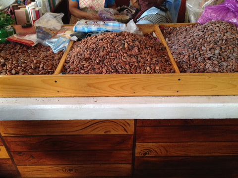 washed cacao