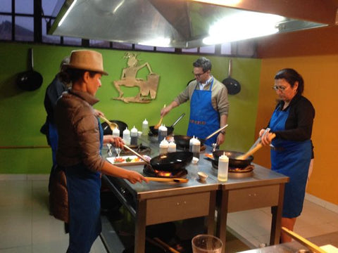 cuzco dining cooking school Arcelia Gallardo