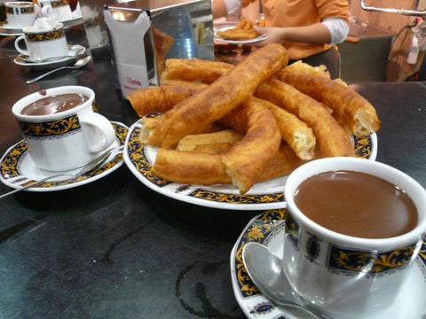 churros españa chocolate