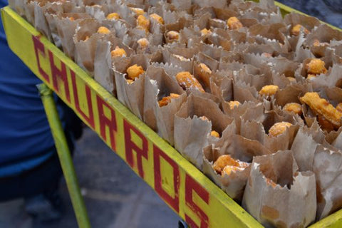 sweet potato churros peru