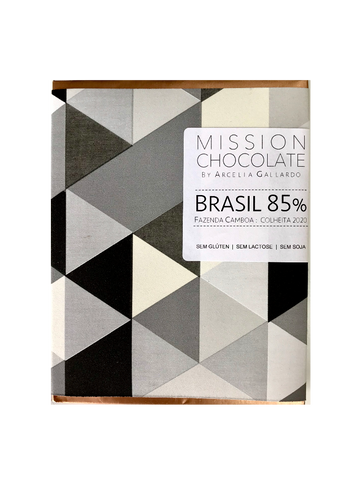 Mission Chocolate - 85% barra de chocolate