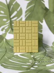 avocado white chocolate bar