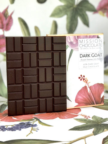 Barra Dark Goat da Mission Chocolate