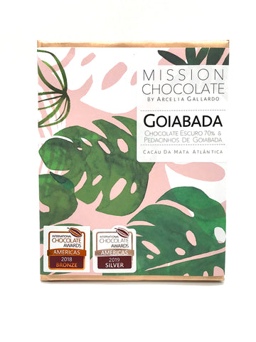 barra de chocolate goiabada