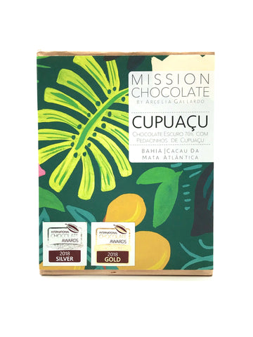 barra de chocolate cupuaçu