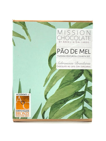 PÃO DE MEL AO LEITE |  GINGERBREAD MILK CHOCOLATE