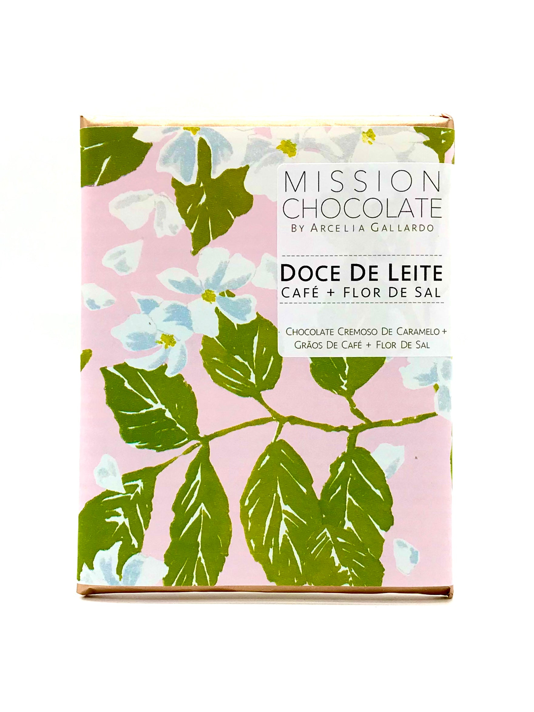 Barra Doce de Leite+Cafe+Fleur de Sel da Mission Chocolate