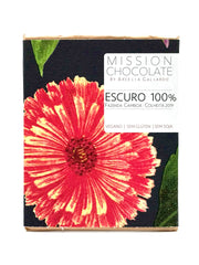 Barra 100% Escuro da Mission Chocolate
