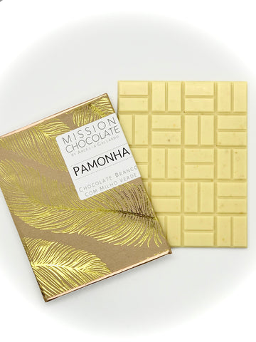 PAMONHA  |  SWEET CORN WHITE CHOCOLATE