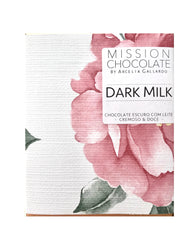 barra de chocolate dark milk ao leite
