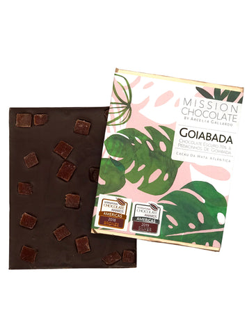 Barra Goiabada 70%  da Mission Chocolate