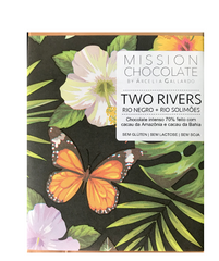 TWO RIVERS 70% - RIO NEGRO E RIO SOLIMÕES| DARK CHOCOLATE 60G