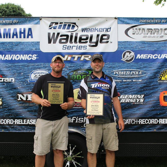 Josh Weisner & Brad Shrawth Win AWWS Nitro Boats Championship on Winnebago... Learn Their Technique