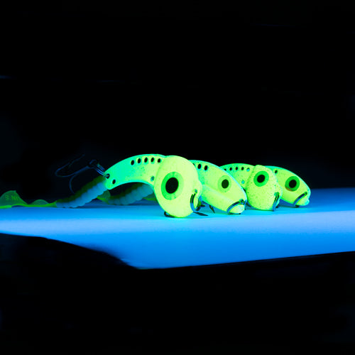 UV GLOW BLADE BAIT JIG COLLECTION