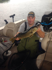 River Walleye Jigging