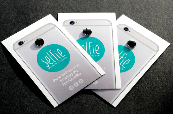 Selfie Mirror Sticker 3-pack